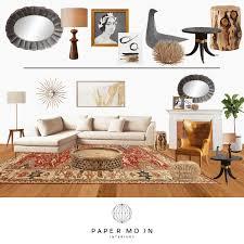online interior design process u2014 paper moon interiors