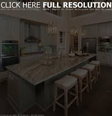 kitchen island with 4 stools home decoration ideas
