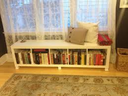 ikea hack bench bookshelf ideas of bench ikea bookcase bench ikea bookshelf bench kallax bunch