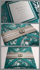 teal wedding invitations luxury teal and gold wedding invitations or gold foil