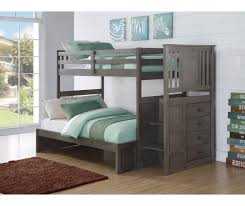 Stair Bunk Beds Grey Stairway Bunk Bed Stair Bunk Beds