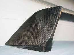 evo 8 spoiler all exposed carbon fiber factory evo viii rear spoiler