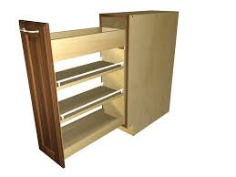 How To Make Pull Out Drawers In Kitchen Cabinets Kitchen Pull Out Spice Rack For Deliver More Goods To You