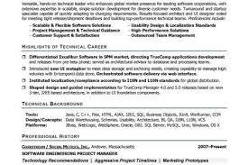 Sample Resume For Senior Software Engineer by Senior Software Developer Resume Example Software Developer