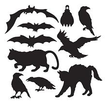 halloween silhouette cutouts halloween silhouettes silhouettes