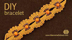 macrame flower bracelet images Diy macram flower bracelet with beads jpg