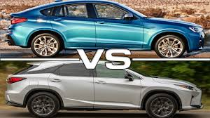 lexus 2017 sport 2017 bmw x4 m40i vs 2016 lexus rx 450h f sport youtube within 2017