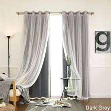 90 Inch Sheer Curtains Sheer Curtains 90 Inches Long Pastoral Style Leaf Pattern Thick