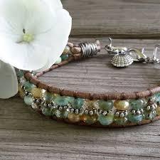 leaf wrap bracelet images 1028 best 1 wrap bracelets images beaded bracelets jpg