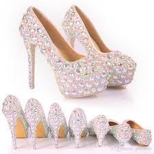 wedding shoes rhinestones 2017 bridal wedding shoes wedding pumps buckle high heel