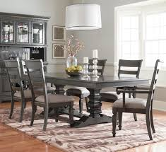 Trestle Dining Room Table Sets Standard Furniture Garrison Trestle Table Dining Set With Six
