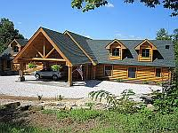 Ranch Style Log Home Floor Plans Log Homes Log Home Plans Design Services Ranch Or Rambler