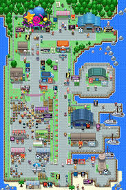 Sinnoh Map Map Wahlen Zum Oberbösewicht Pokémon Fanart