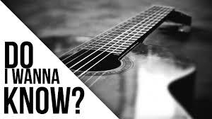 fright lined dining room arctic monkeys do i wanna know acoustic lyrics youtube