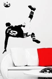soccer football and famous soccer players wall stickers home decor soccer football and famous soccer players wall stickers home decor wall decal for kids room sport
