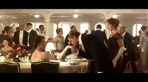 Titanic First Class Dining Room Titanic Dinner Scene Youtube