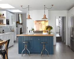 blue kitchen islands blue kitchen island houzz