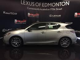 lexus ct200h canada pre owned 2017 lexus ct 200h demo unit f sport series 2 4 door