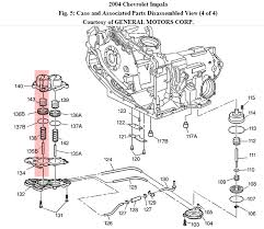 2005 chevy impala transmission diagram 100 images shifter wire