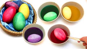 Easter Egg Decorating At Home by Coloring Easter Eggs Diy How To Dye Easter Eggs At Home Osterei