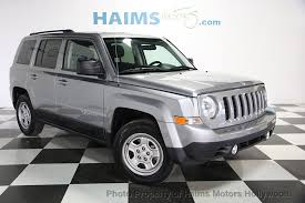 patriot jeep used 2015 used jeep patriot fwd 4dr sport at haims motors