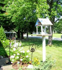 yard art fest rusty metal bird feeder using metal scrap rustic