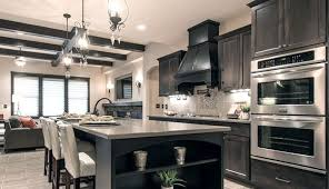 gray stained kitchen cupboards wolf dartmouth grey stain kitchen cabinets modern look