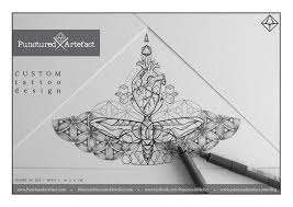 punctured artefact ink your wall or skin organic geometry tattoo