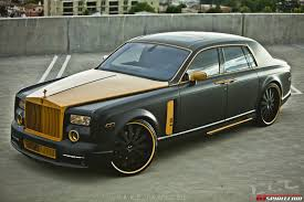 roll royce fenice based on a silver rolls royce phantom sedan the rolls gold custom