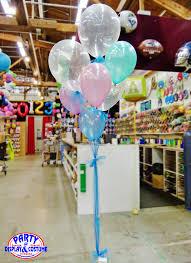 balloon delivery ta frozen balloon bouquet in pearl lavender pearl mint green