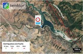 San Jose Map by Seismic Concerns Mount At Anderson Dam South Of San Jose Temblor Net