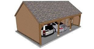 two bay garage with workshop the stable company