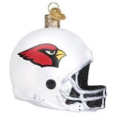 arizona cardinals helmet ornament callisters