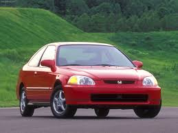 Honda Civic Si Two Door Honda Civic Coupe 1995 Pictures Information U0026 Specs