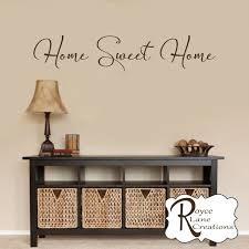 home sweet home decal 7 home sweet home wall decal foyer