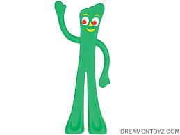 gumby halloween free cartoon graphics pics gifs photographs gumby and pokey