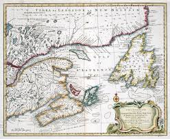 Map Of Newfoundland Canada by A New And Accurate Map Of The Islands Of Newfoundland Cape Breton