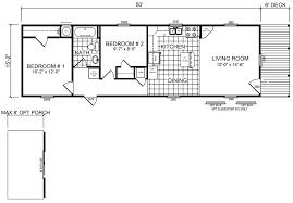 16 x 50 floor plans homes zone