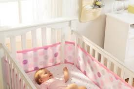 win a breathable baby mesh crib liner for your nursery