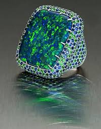cornflower blue opal margot mckinney ring www margotmckinney com design pinterest
