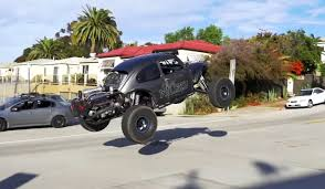lexus v8 dune buggy watch this ls powered bug tear up san diego in an illegal street hoon