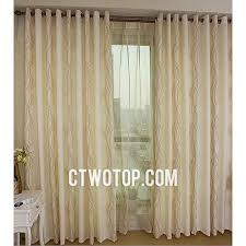 Striped Linen Curtains Ready Made Contemporary Cheap Simple Striped Beige Linen Curtains