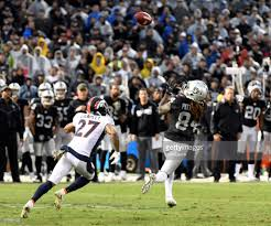 Raiders American Flag Denver Broncos Versus The Oakland Raiders Pictures Getty Images