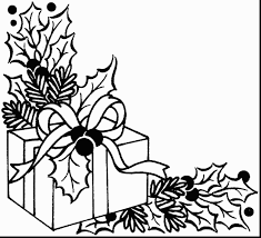 cat getcom cat printable christmas present coloring pages getcom