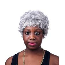 black women short grey hair best afro wig out of top 21