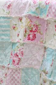 Shabby Chic Blue Bedding by Crib Rag Quilt Baby Crib Bedding Shabby Chic Nursery Sunshine