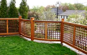 Fence Panels With Trellis Lattice Fence Curved Panel No Cf6 By Trellis Structures