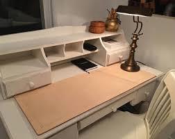 leather desk blotter etsy