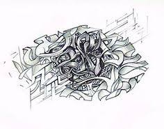 complex abstract pencil drawings google search sketch