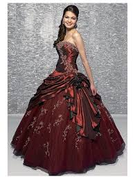 red gothic wedding dress good dresses